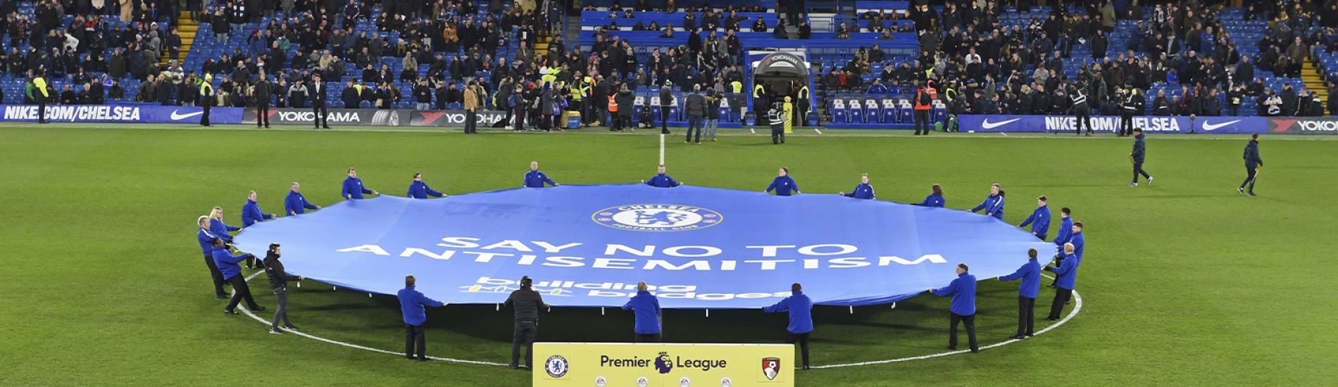 Chelsea FC launch Say No to Antisemitism website