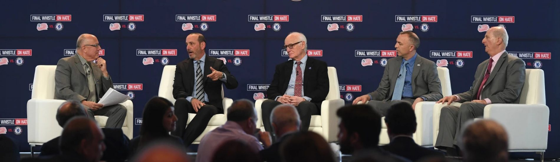 Chelsea and Revolution Representatives Discuss the Power of Sport