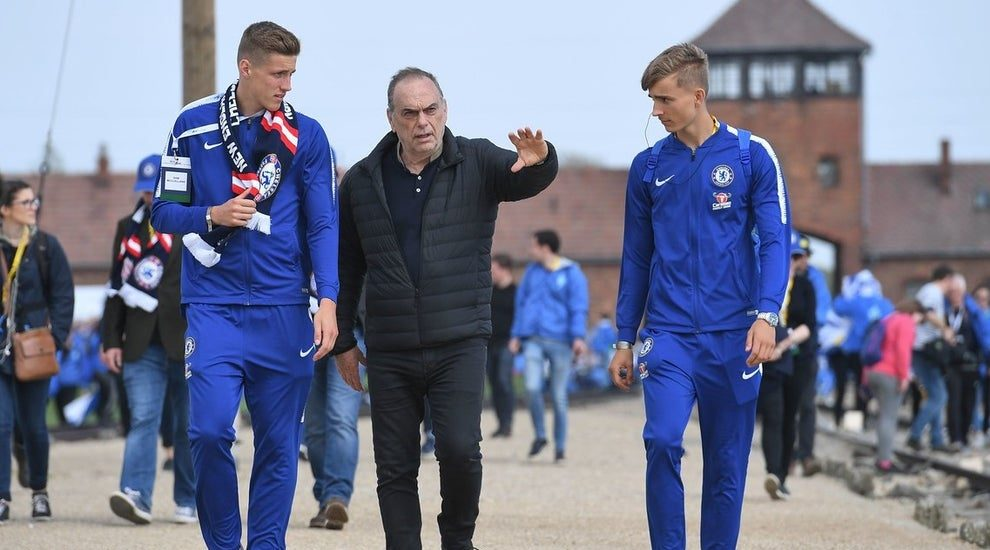 Chelsea Youngsters Visit Auschwitz to Commemorate Holocaust