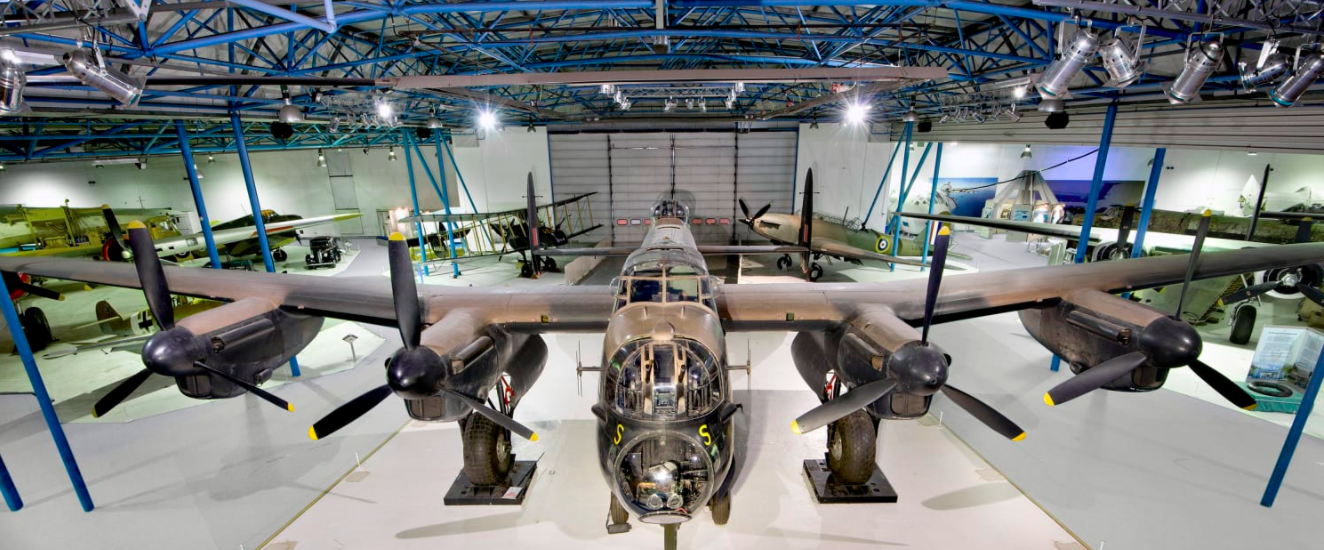 Chelsea Foundation continues support to RAF Museum by adopting Lancaster bomber