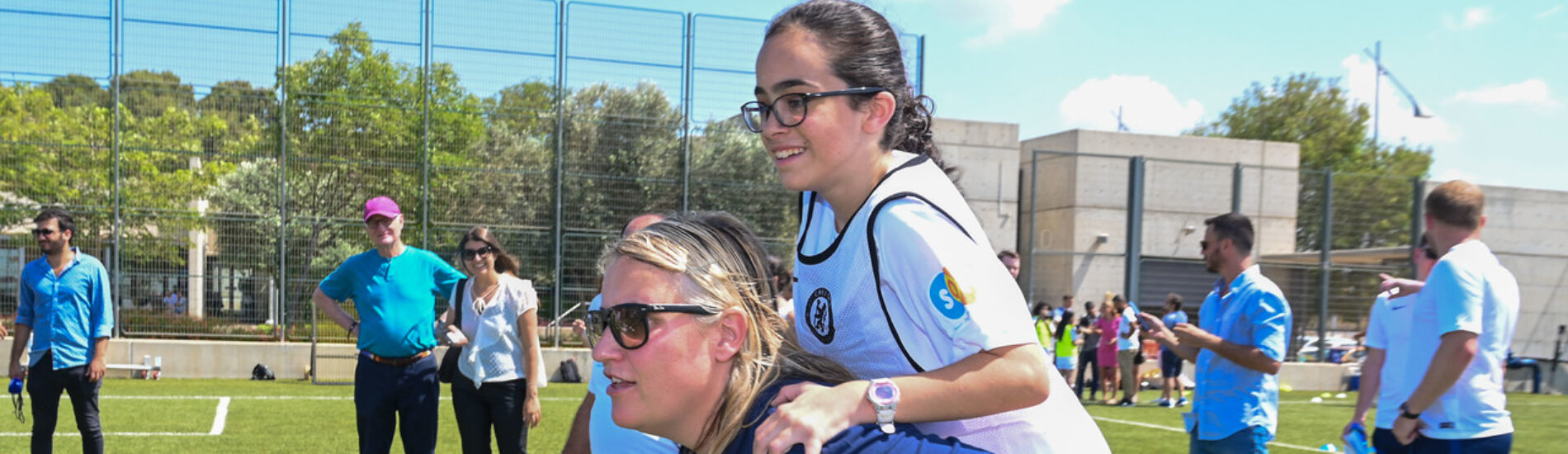 Chelsea Foundation, The Peres Center for Peace and Innovation and The Israeli Football Association team up on football programme for Jewish and Arab children